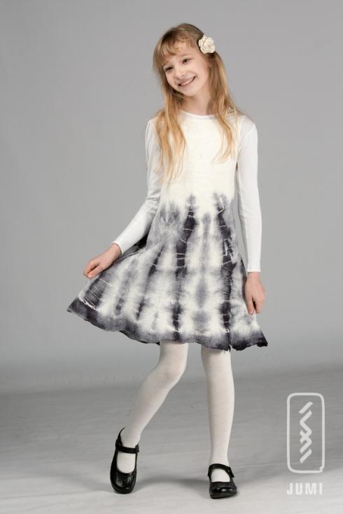balta batika suknele monika 3web